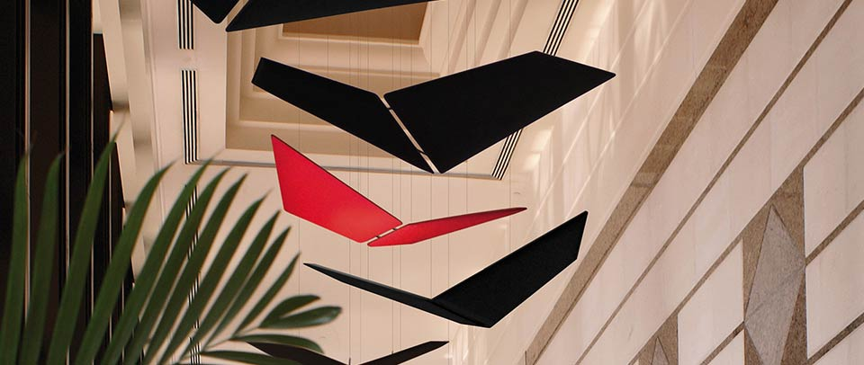 Flap Wings Acoustic Panels