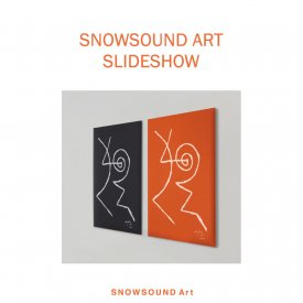 SnowSound Art Slideshow