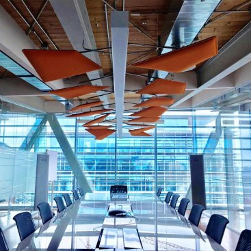 Conference Room / Flap Chandelier